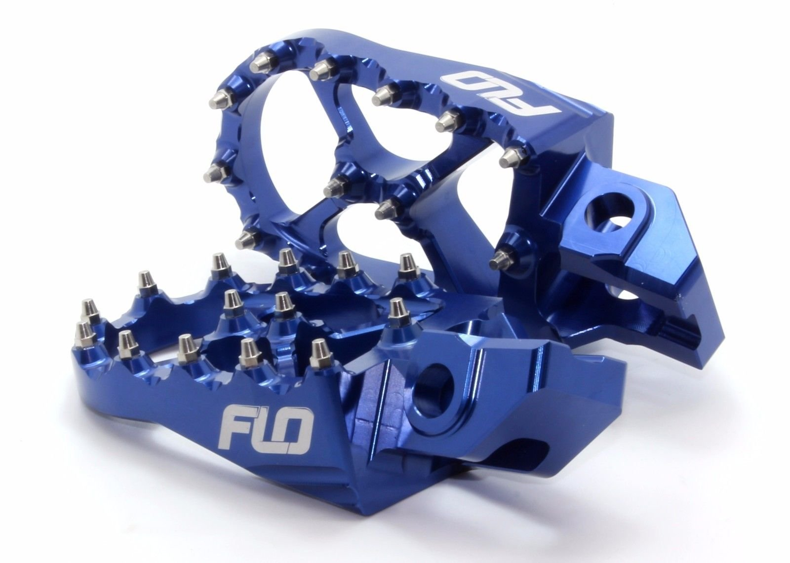 Ktm Foot Pegs Flo Motorsports for 2016 KTM Foot Pegs 125sx/150sx/ 250-450sx-f and Xc-f Blue fpeg-795-2blu by Flo Motorsports (Image #3)
