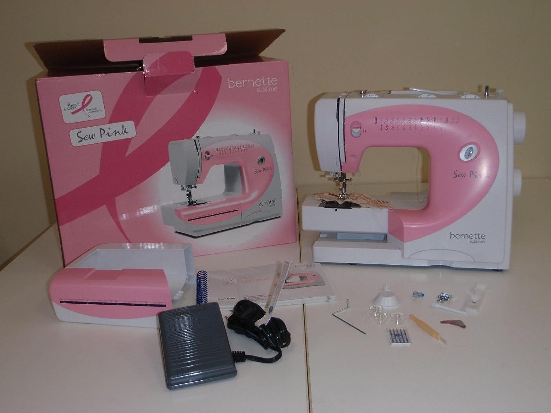Bernette Roma 5 Sew caja de máquina de coser (nuevo en rosa ...