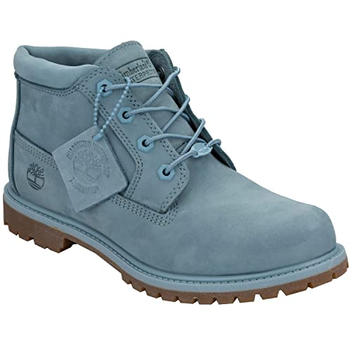 db767f43d111 Timberland Womens Womens Nellie Chukka Boots in Blue - UK 3  Amazon ...