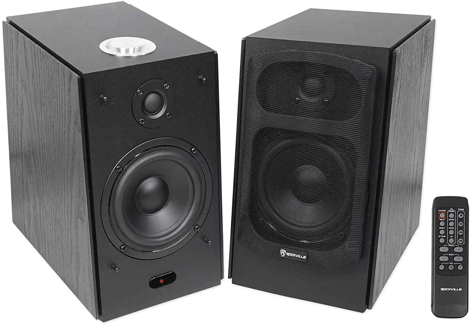 (2) Speaker Home Theater System for LG UK6090PUA Television TV - in Black