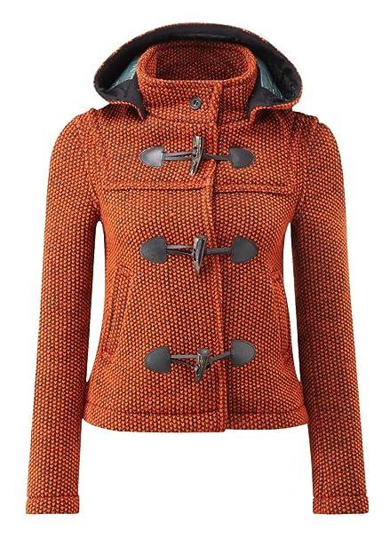 44123bd8f318db Montgomery Donna Mayfair Cappotto Arancione: Amazon.it: Abbigliamento