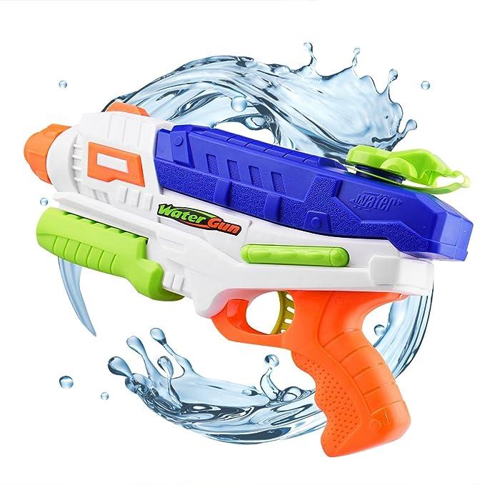 Dlife Pistola de Agua, Pistolas de Agua para Niños y Adultos, Pistola de Chorro de Agua Juguete de Verano para Playa