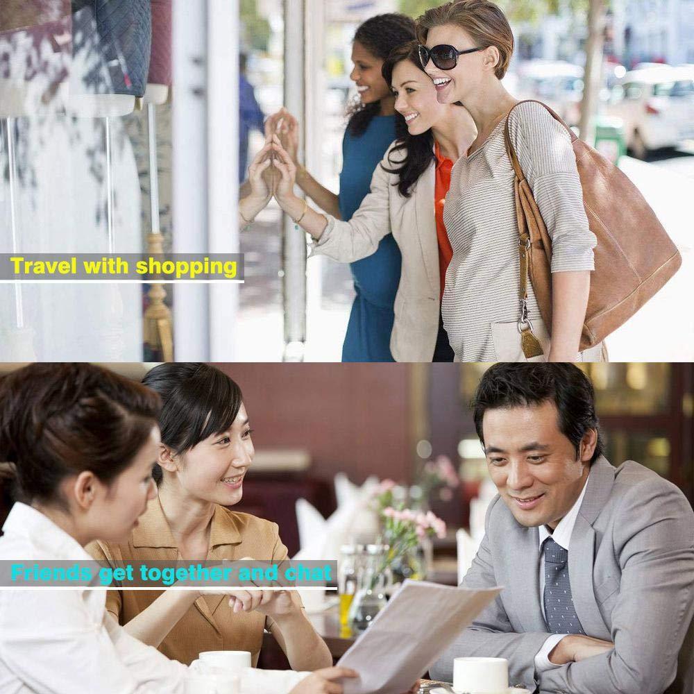 Adatta per Viaggi dAffari e Shopping Supporta la Traduzione Istantanea in 41 Lingue con Istruzioni in 8 Lingue Diverse Ceepko Traduttore Vocale Istantaneo