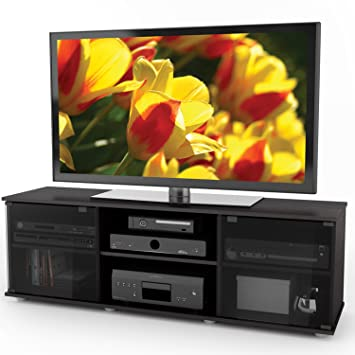 Amazon Com Sonax Fb 2600 Fiji 60 Inch Tv Component Bench Ravenwood