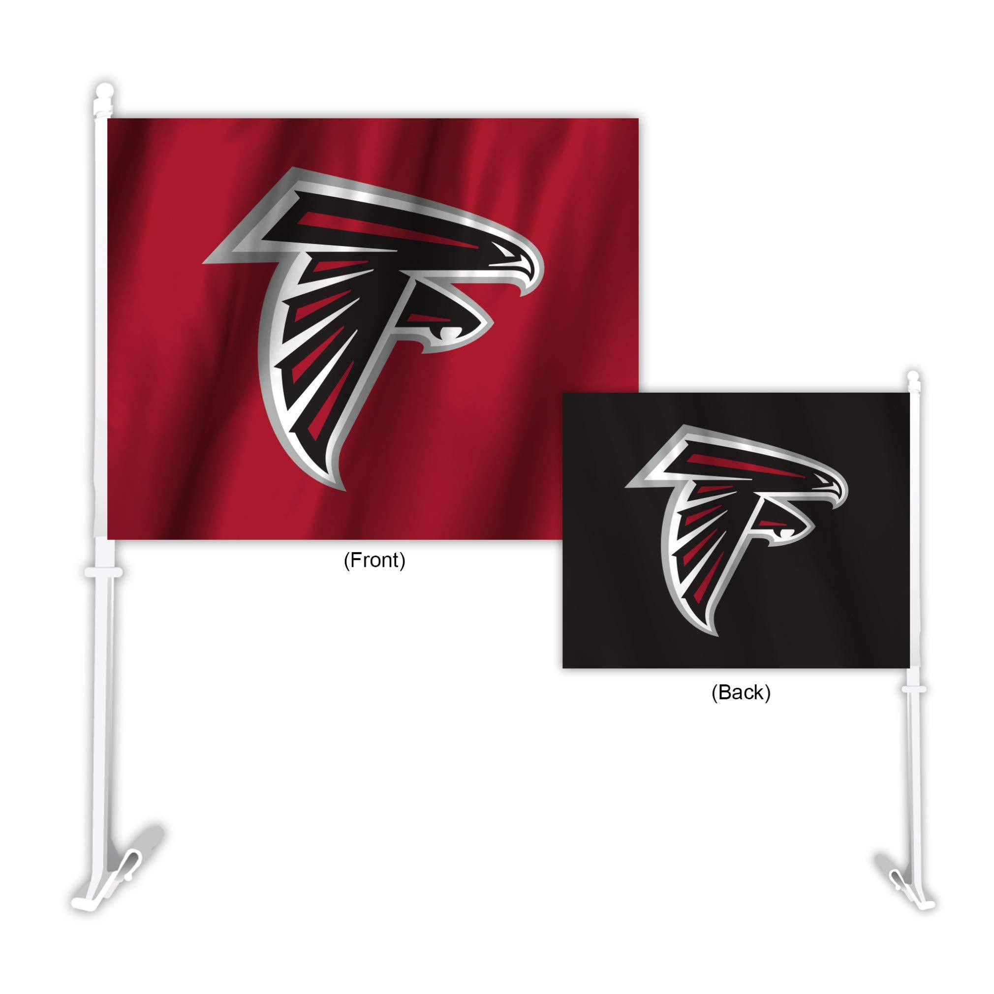 NFL Atlanta Falcons Home & Away Car Flag