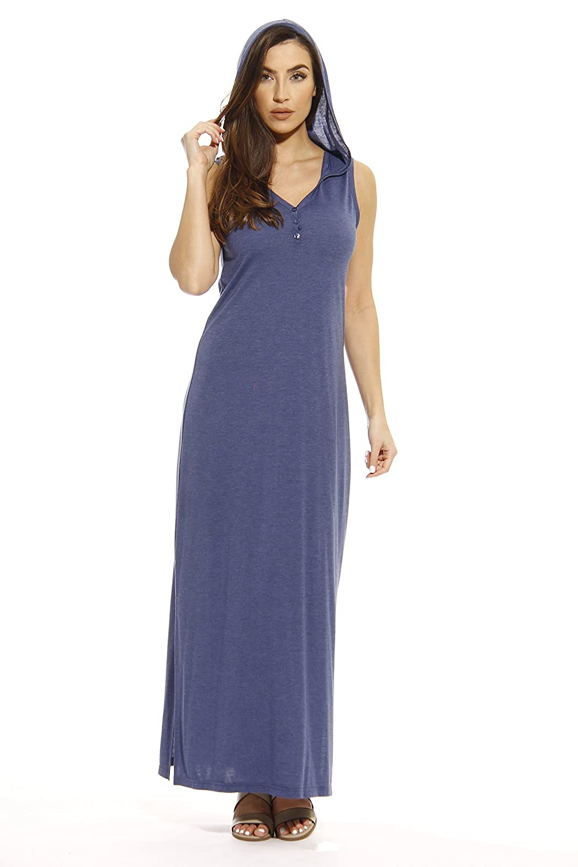 fde5da2b7ec18 Just Love Maxi Hoodie Dress Summer Dresses at Amazon Women s Clothing store