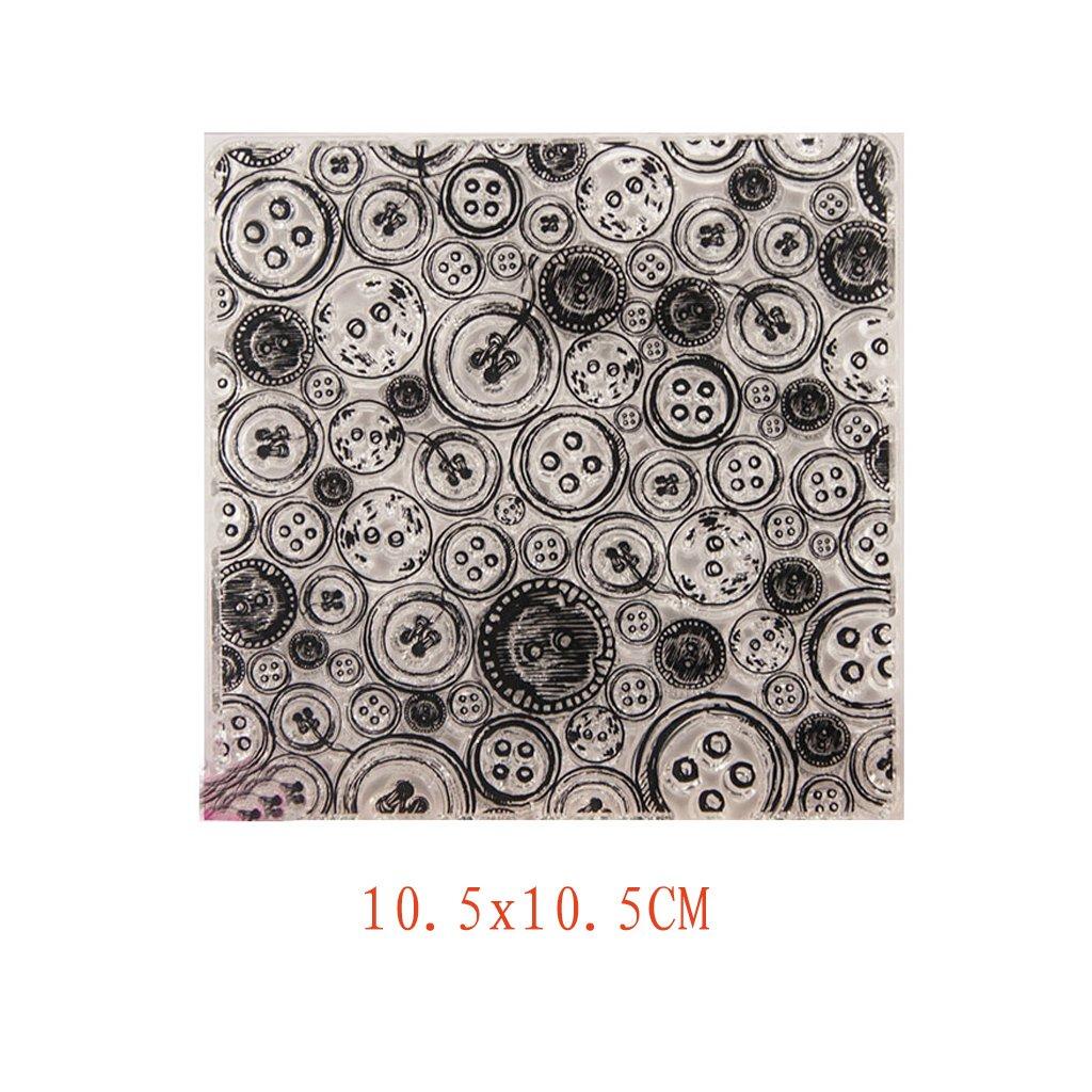 HBSHE - Album da collezione, in silicone, trasparente