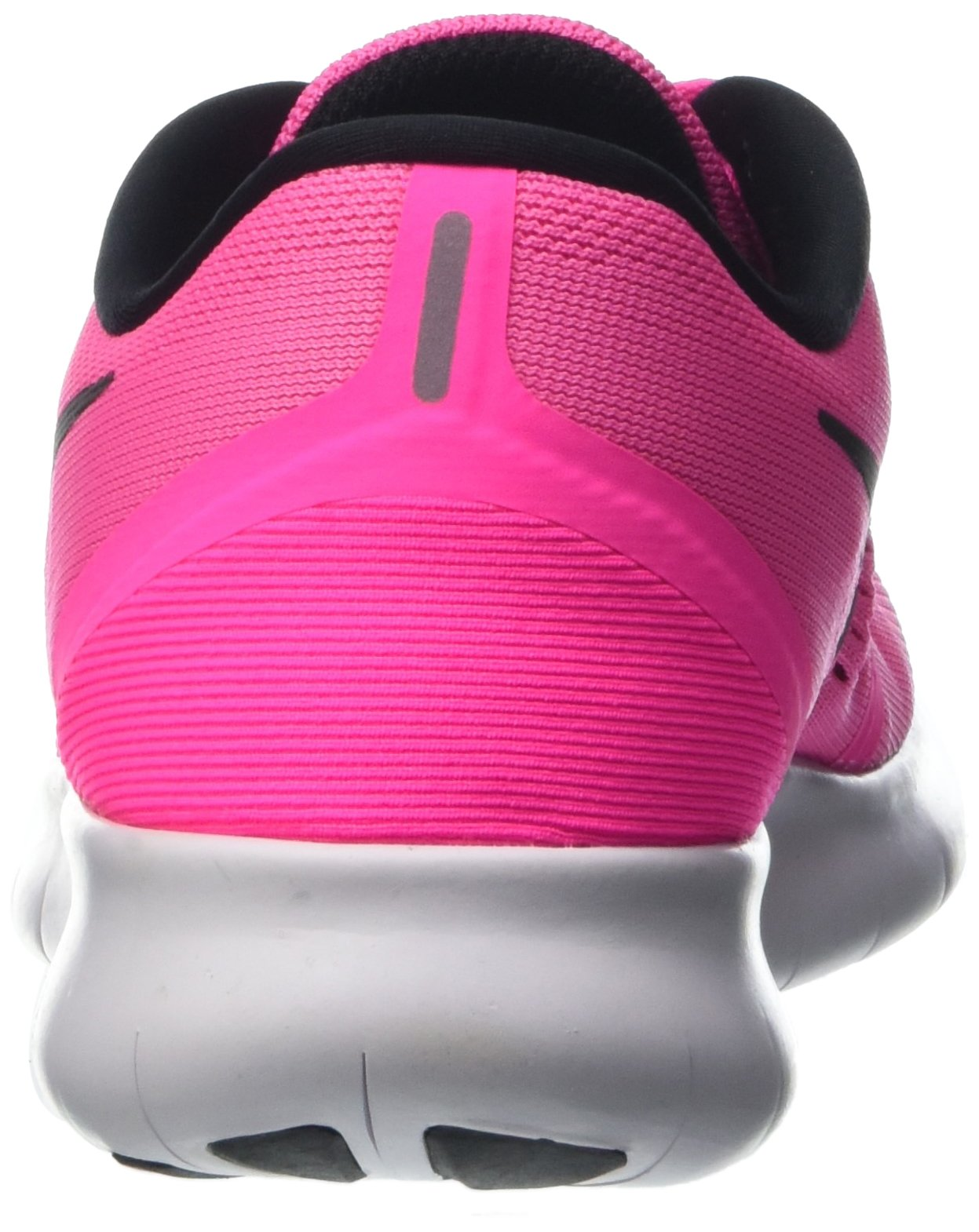 Nike Womens Free RN Running Shoes Pink Blast/Fire Pink/White/Black 5 B(M) US by Nike (Image #2)
