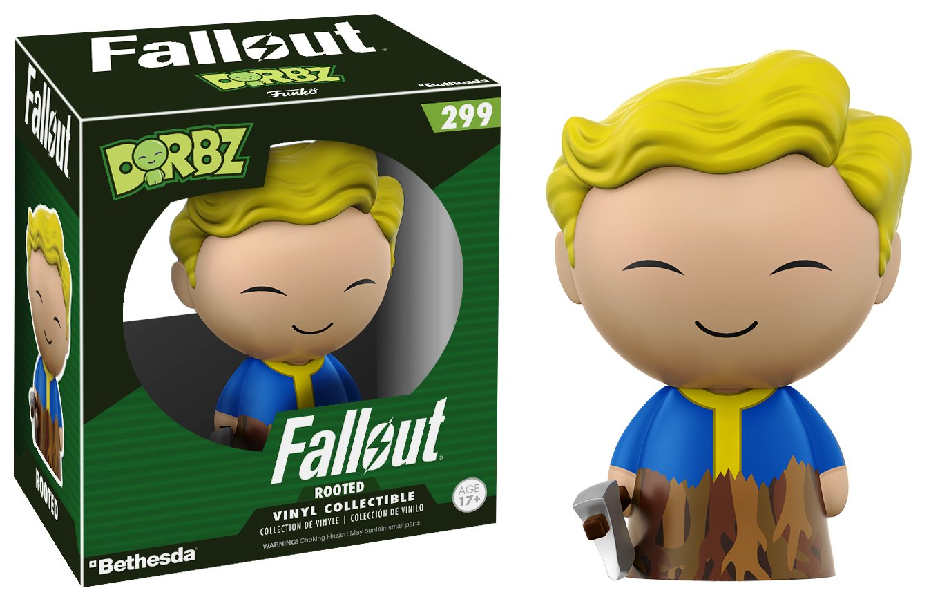 Styles may vary 12737 Accessory Toys /& Games Miscellaneous Funko Dorbz Fallout Vault Boy Rooted Toy Figures