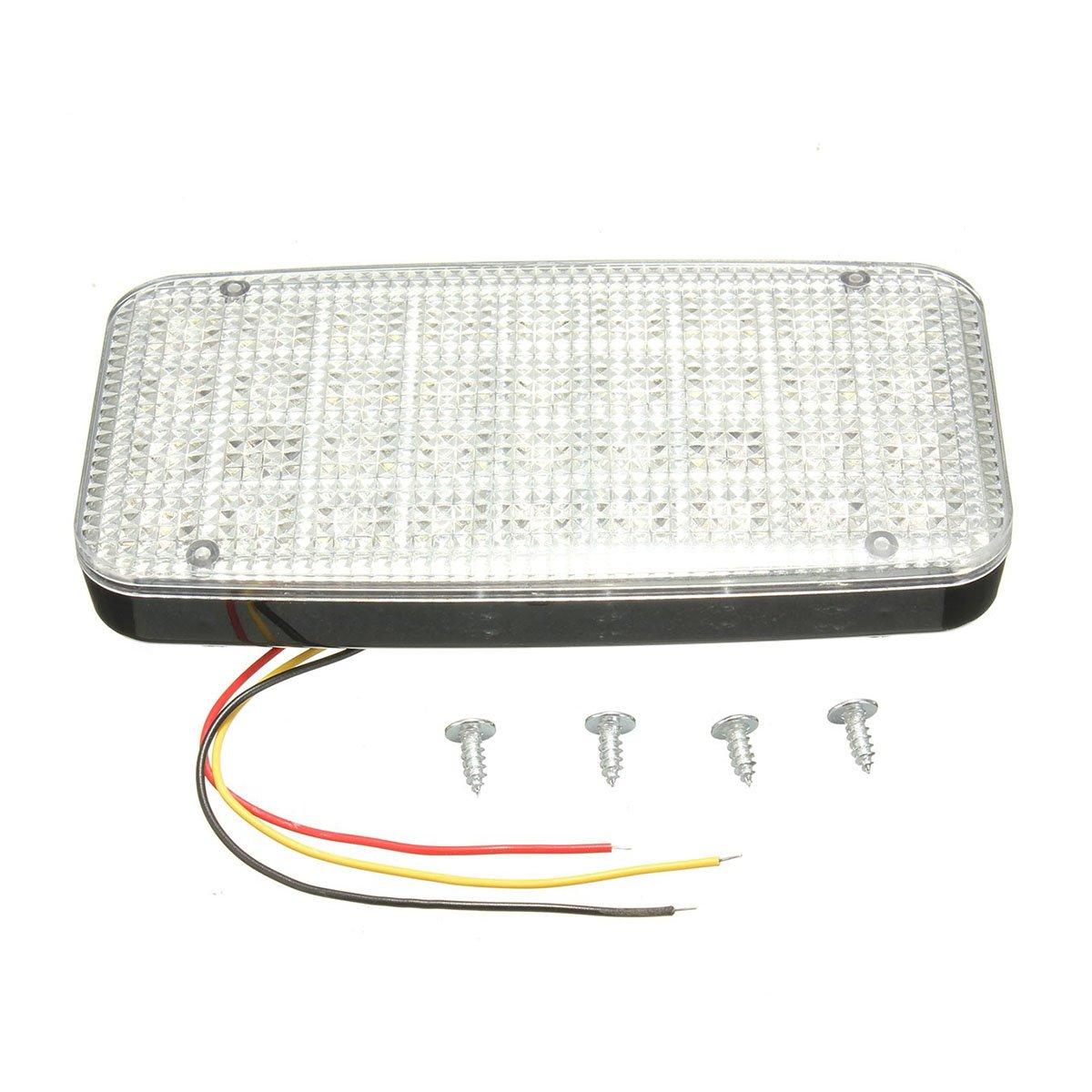 WINOMO LED Car Roof Light 12V 36LED Auto Car Interior Reading Light Plafoniera a soffitto