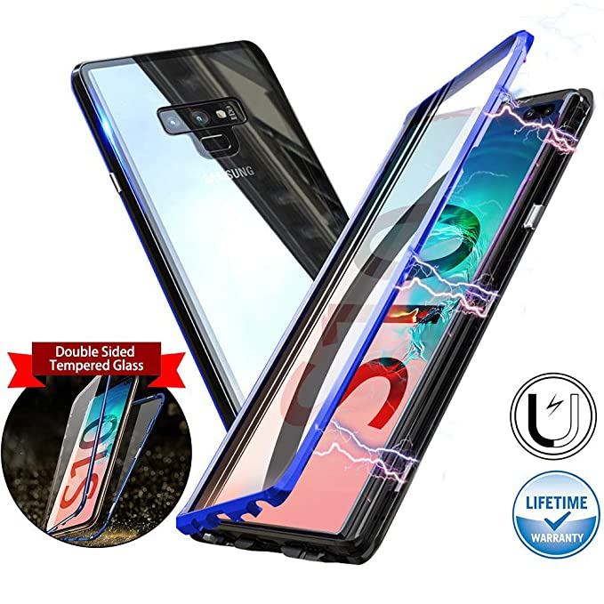 Magnetic Case for Samsung Galaxy Note 9,Double-Sided: Amazon.in: Electronics
