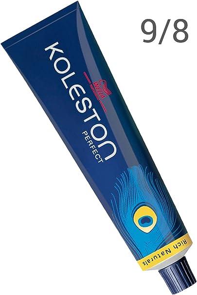 Tinte rubio claro de Wella Koleston Perfect 9/8, 60 ml