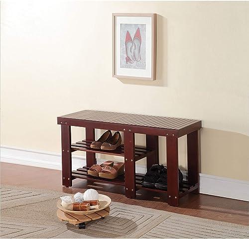 ACME Furniture Roy Bench, Dark Walnut