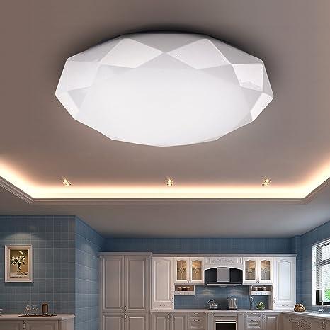VGO® 22W plafón LED Lámpara de techo Lámpara de pasillo Sala de comedor Luz de techo