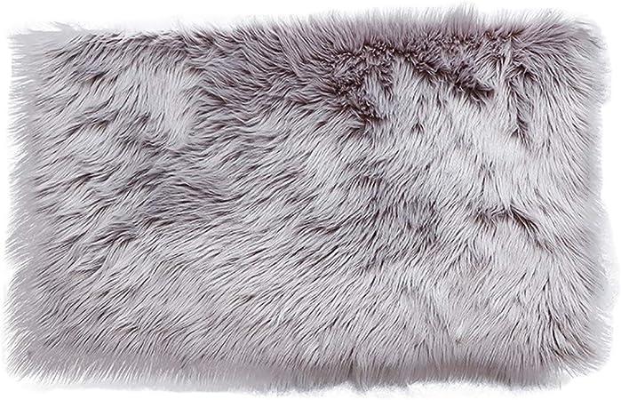 ALEILA Tapis Salon, Design Nordique Fluffy Shaggy Chambre ...