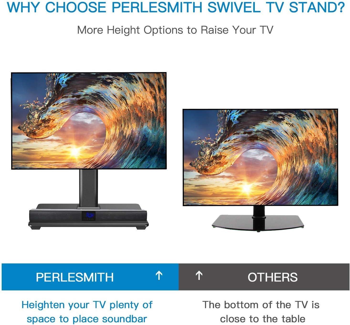 Perlemith - Soporte Universal para TV de 32 a 55 Pulgadas con ...