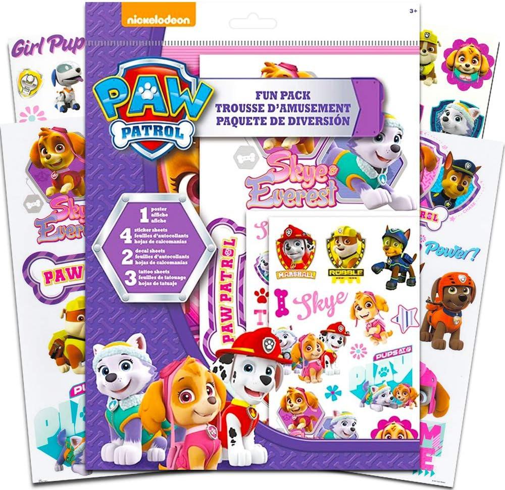 Nickelodeon Paw Patrol Sticker Pad Kinder Activity Sticker Party Gefallen Kinder