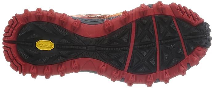 Saucony Xodus 5.0, Baskets pour Homme - Multicolore - Arancione/Rosso/Bianco, 40 EU