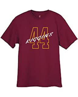 Wally s Custom Apparel Mens Riggins 44 T Shirt Burgundy Sizes Small - 2XL 7be1d9f94