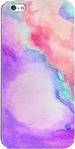 جراب هاتف Iphone7 مطبوع عليه ألوان مائية غطاء ناعم رقيق من السيليكون TPU عالي الجودة 4.7 بوصة