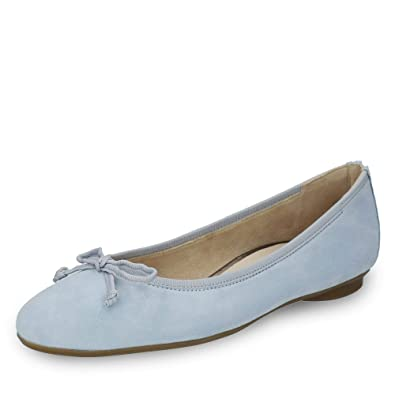 Paul Green Damen Ballerinas 2598 2598 164 blau 586389