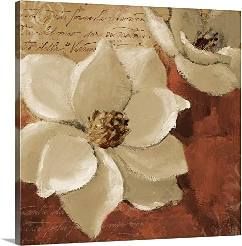Midday Magnolias I Canvas Wall Art Print
