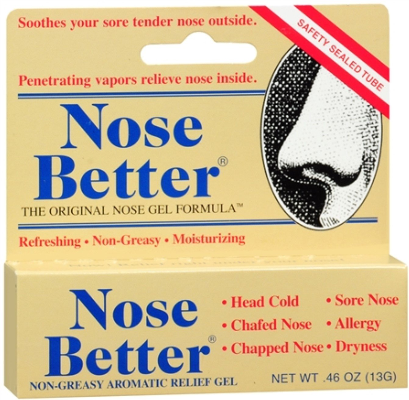 Nose Better Gel 0.46 oz (Pack of 6) by Nose Better