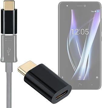 DURAGADGET Adaptador de Micro USB a USB-C Compatible con ...