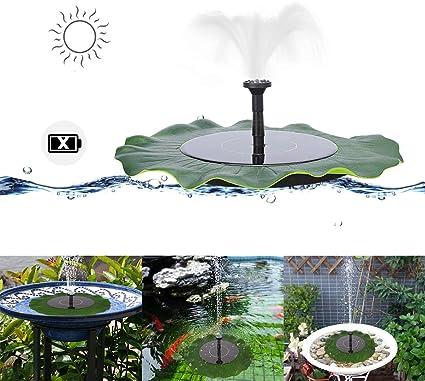 MASO - Bomba de agua solar para estanques de jardín: Amazon.es: Coche y moto