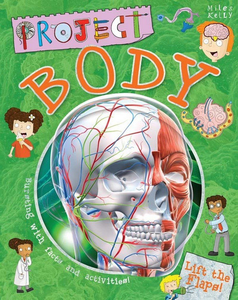 Project Body: Bursting with Facts and Activities for 7-10! PDF