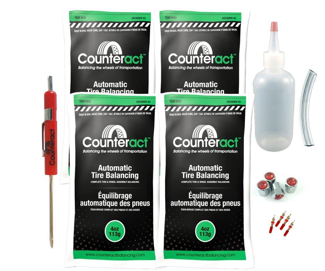 DIYK-4 Counteract Tire Balancing Beads - 4oz DIY Kit (16oz)