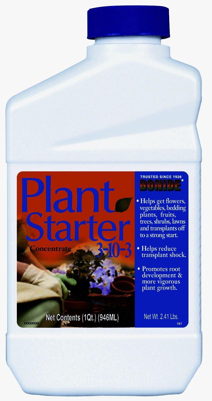 Bonide 037321001614 32 OZ, Concentrate, 3-10-3, Plant Starter, Fertilizer Plus Vitamin B-1