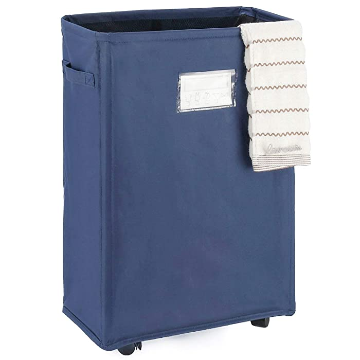 Top 9 Rolling Laundry Cart With 2 Bags
