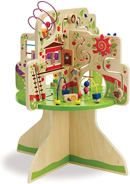 Multi Activity Center Tree Table Top Adventures