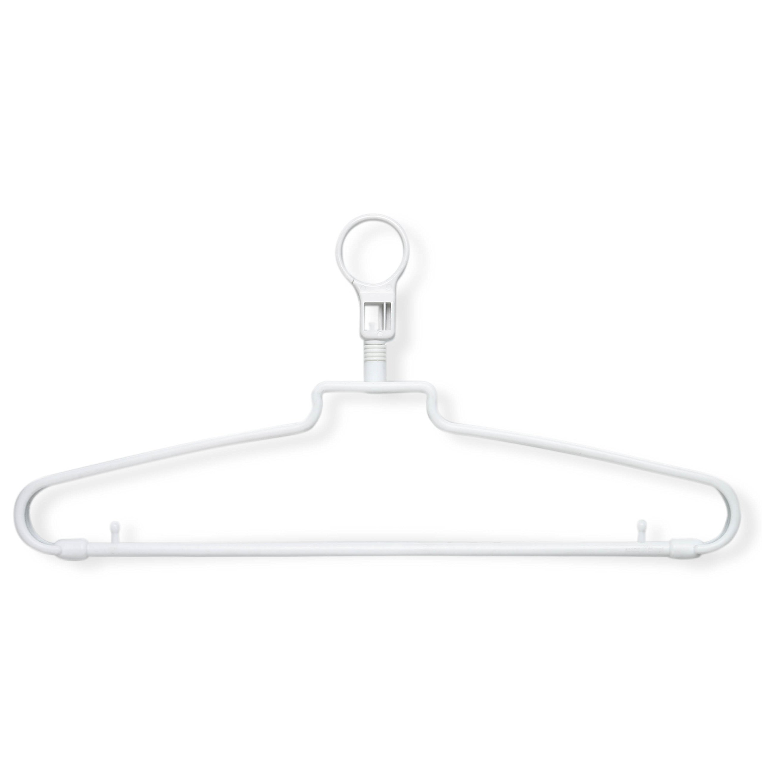 Honey-Can-Do HNG-01356 Hotel Hangers with Security Loop, 72-Pack