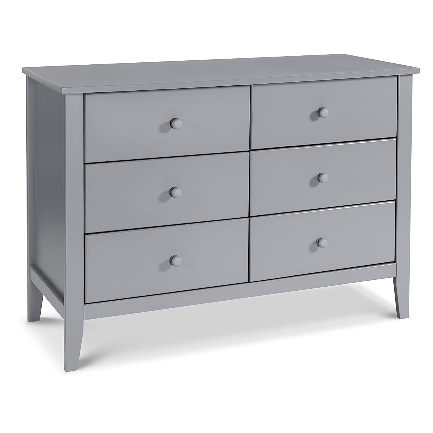 Carter's by Davinci Morgan 6-Drawer Dresser in Grey