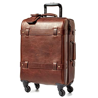 Amazon.com: Moore and Giles Parker Baldwin Oak Leather Carry-On ...