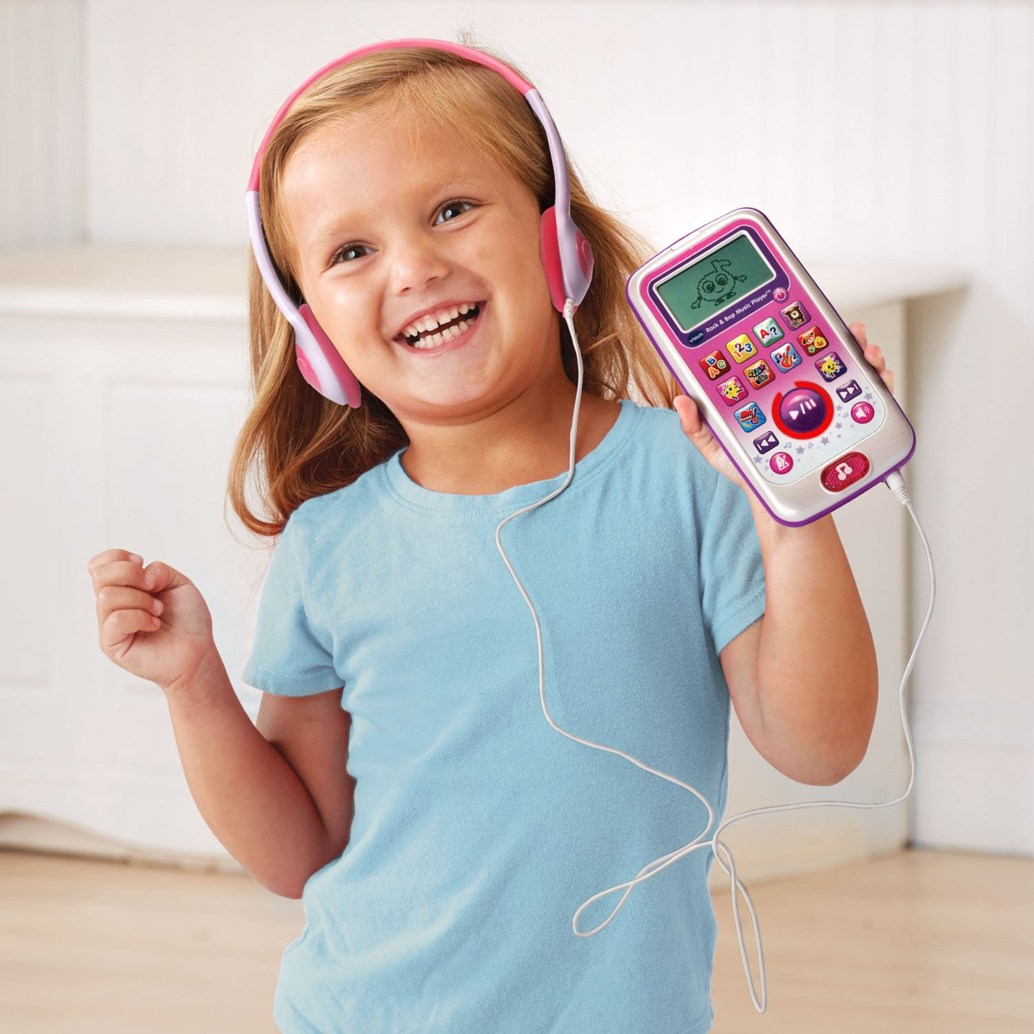 VTech Rock and Bop Music Player Amazon Exclusive, Pink by VTech (Image #5)