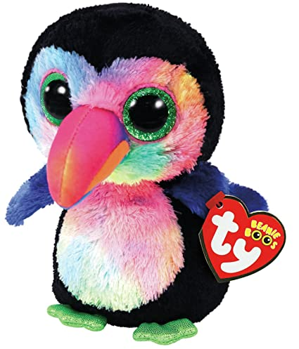 eecbdb51700 Amazon.com  TY Beanie Boos Plush - Beaks the Toucan  Toys   Games