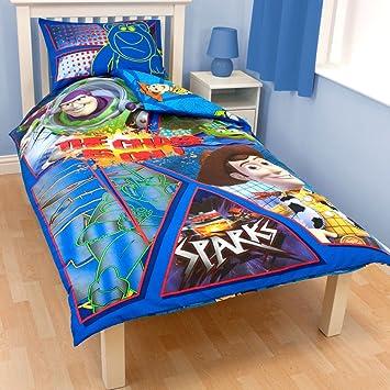 Toy Story Fraktal Bettbezug Kissenbezug Bettwäsche Single Size