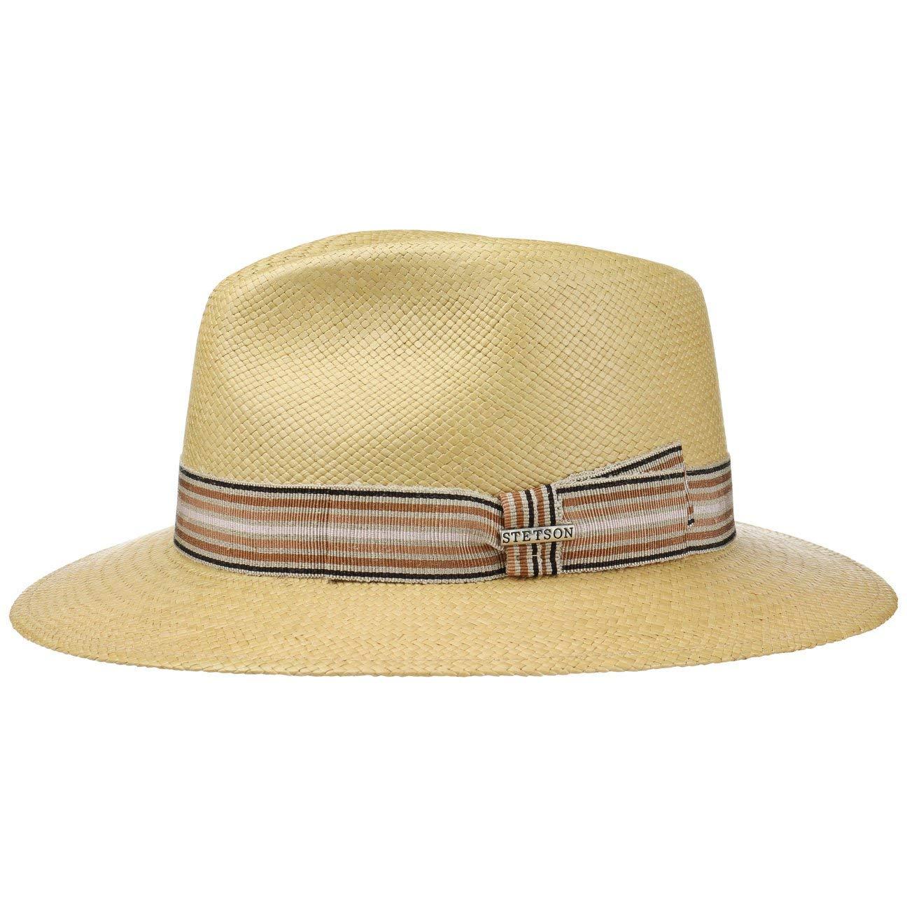 Stetson Cappello Panama Duran Traveller Paglia Estivo da Sole  Amazon.it   Abbigliamento 38f751d10d39
