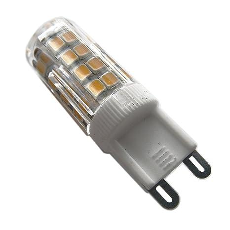 LightED Bombilla LED 30K G9, 3.5 W, Blanco 16 x 50 mm
