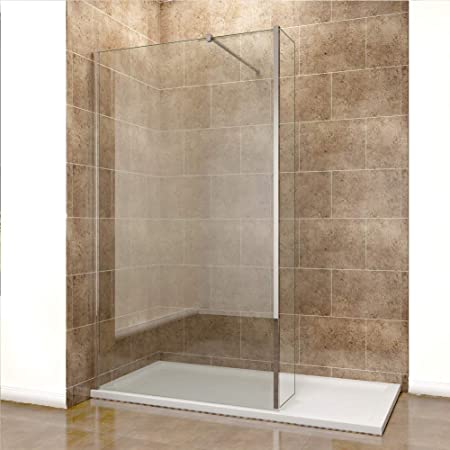 sunny showers 1100mm Walk In Wetroom Shower Screen Panel 8mm Easy ...