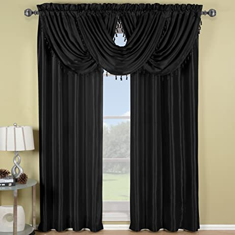 hei damask verona sharpen prod wid valance black swag spin pair white qlt curtains s op today curtain search