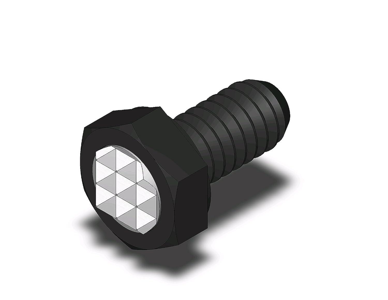 Fairlane CTHF-0375X1.5 CTH Adjustable Gripper Fine 3//8-16 x 1-1//2 in Full Thread