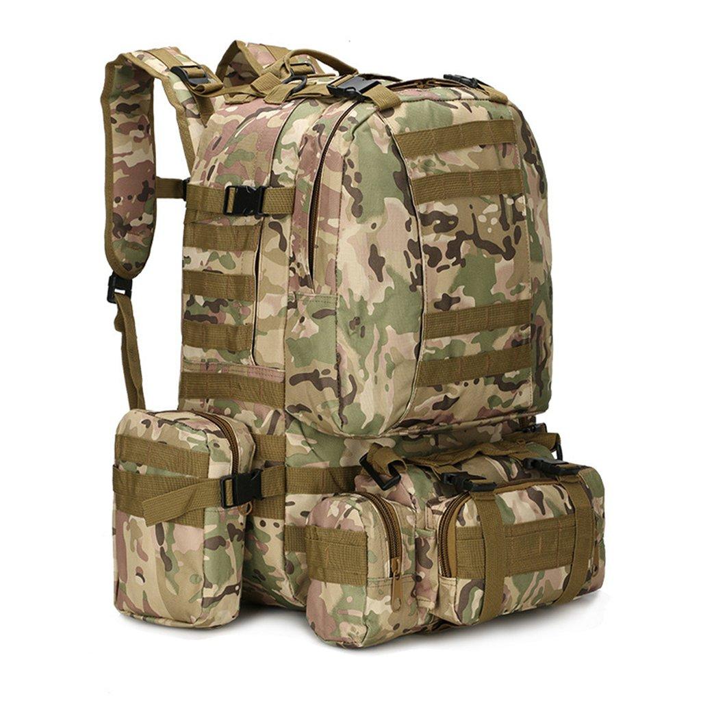 Gumstyleアウトドア迷彩Camouflage Military MOLLE Armyタクティカルバックパックリュックサック旅行スポーツキャンプハイキングバッグ B01D9P3568 CP迷彩