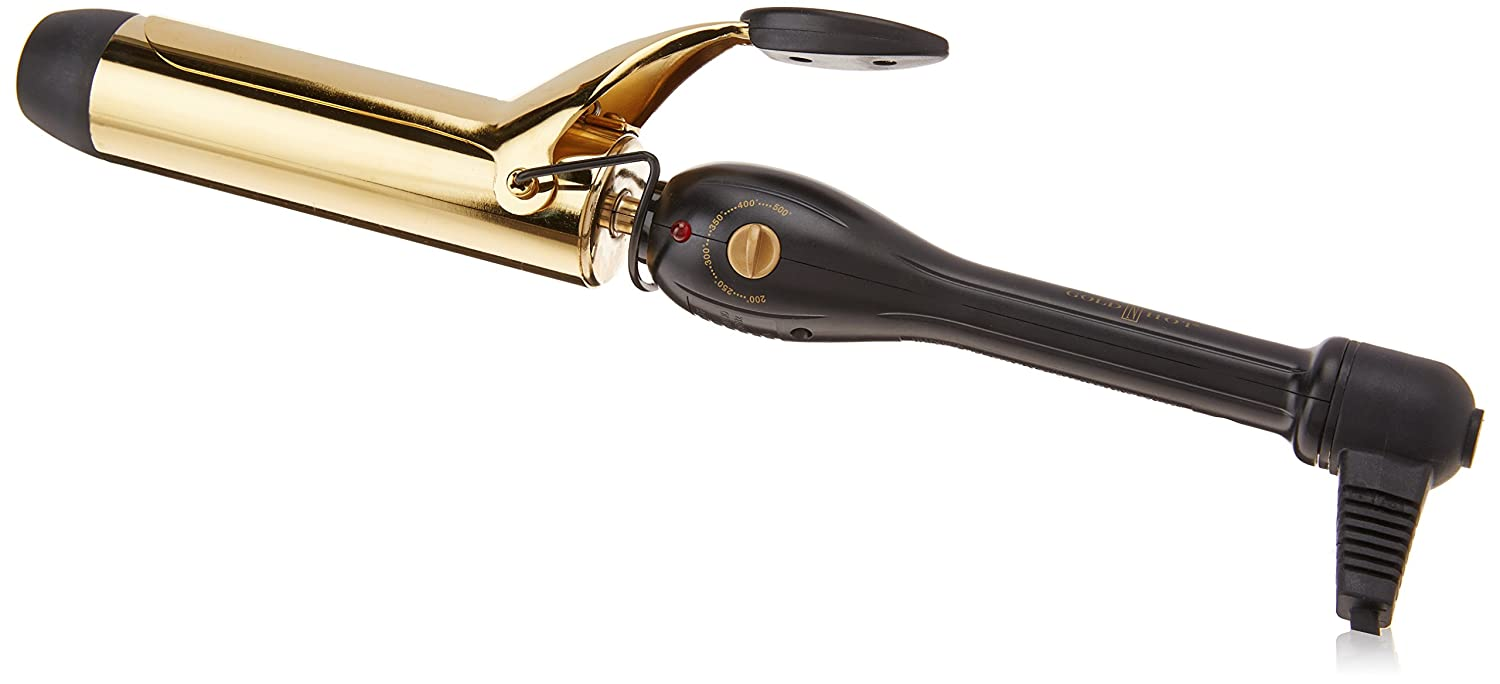 Gold 'N Hot GH9207 Professional Spring Curling Iron, 1-1/2 1-1/2 Gold N' Hot