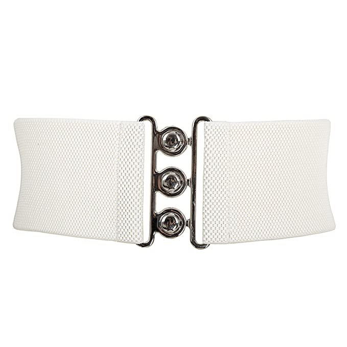 Vintage Wide Belts, Cinch Belts  Stretch Elastic Waist Belt Waistband $7.99 AT vintagedancer.com