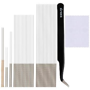 Amazon.com: Cosweet 38 piezas 3d boquillas de impresora Kit ...