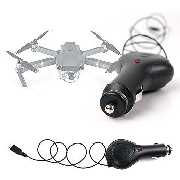 DURAGADGET Cargador Para Mechero Del Coche Para Dron Blade 350 QX3 ...